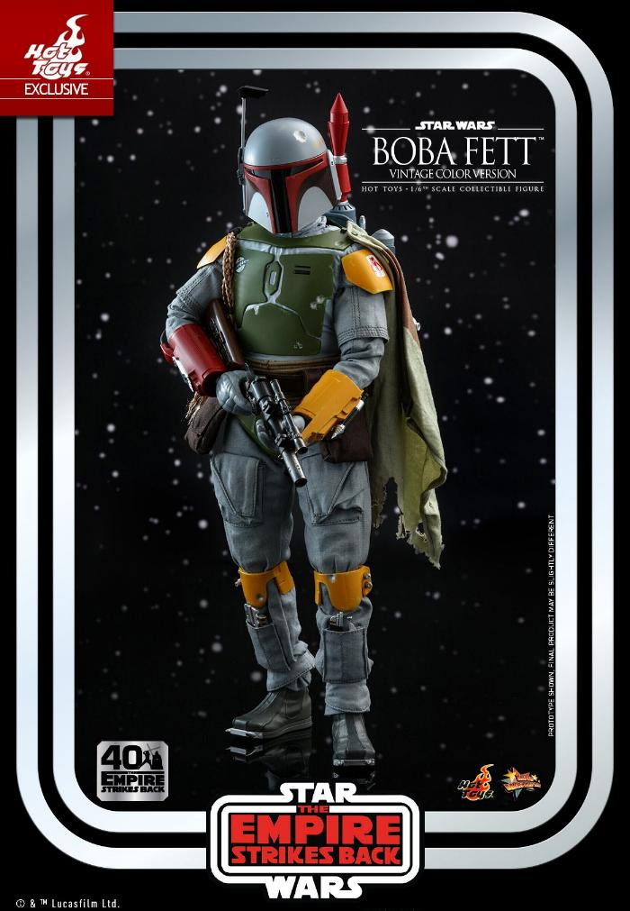 Boba Fett - 1/6th scale (Vintage Color Version) Hot Toys 0918