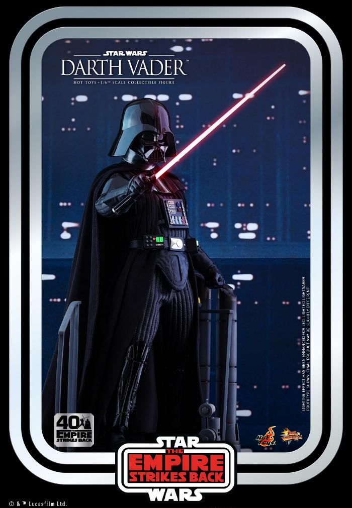Darth Vader The Empire Strikes Back - 1/6th scale Hot Toys  0920