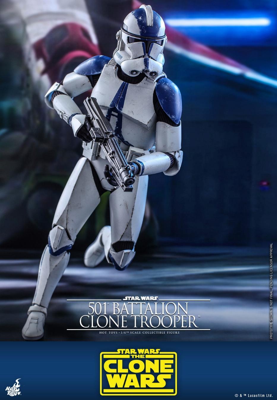 501st Battalion Clone Trooper - The Clone Wars - Hot Toys 0924