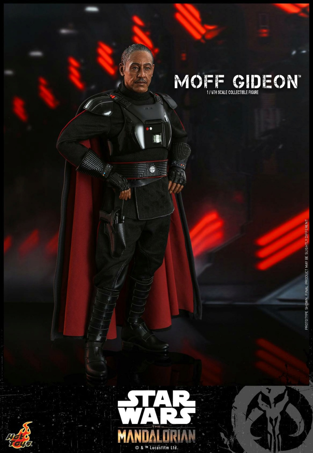 Imperial Moff Gideon - 1/6 Scale Figure - Hot Toys 0932