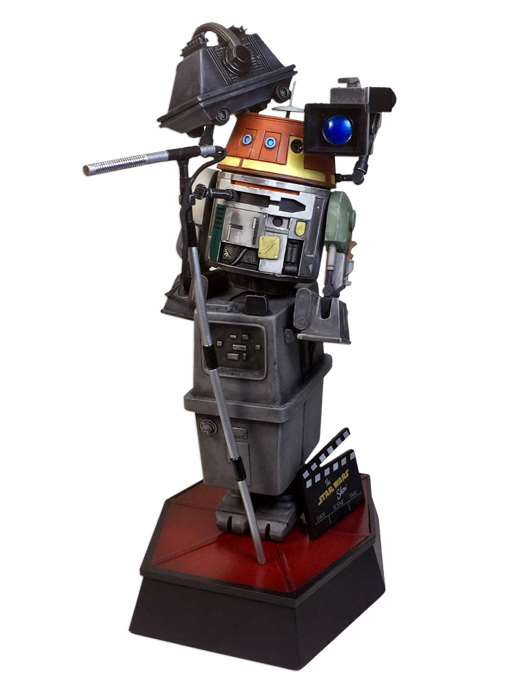 Gentle Giant - Star Wars Show 100th Episode Statuette 100_0010