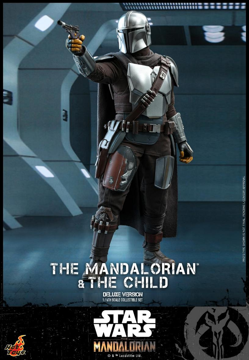The Mandalorian & The Child Set - 1:6 - Hot Toys Star Wars 1014