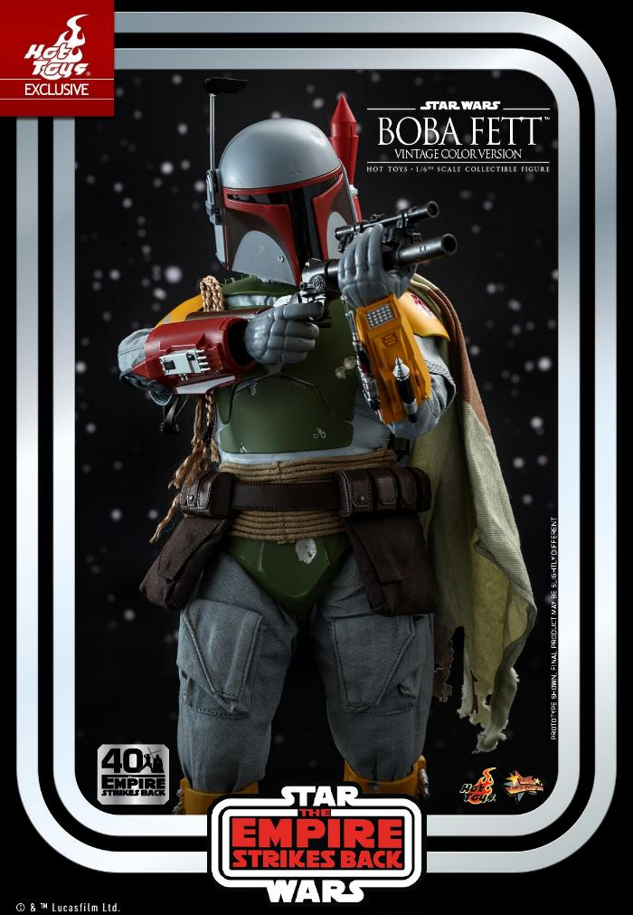 Boba Fett - 1/6th scale (Vintage Color Version) Hot Toys 1017