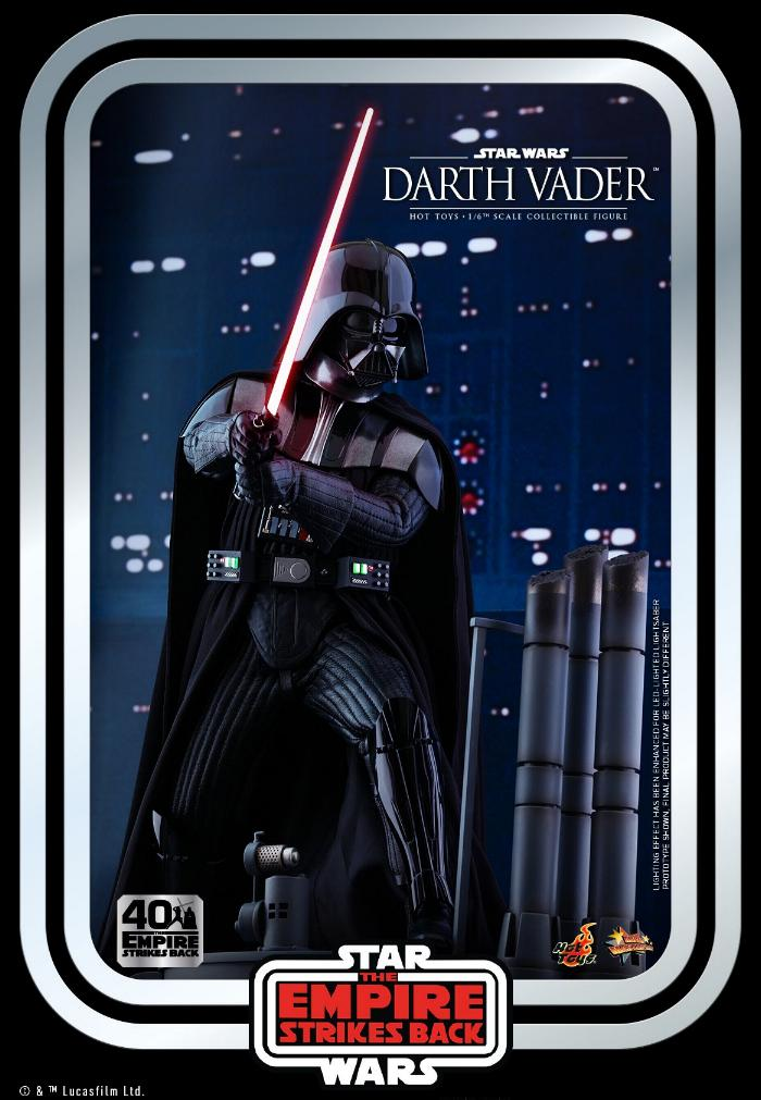 Darth Vader The Empire Strikes Back - 1/6th scale Hot Toys  1019