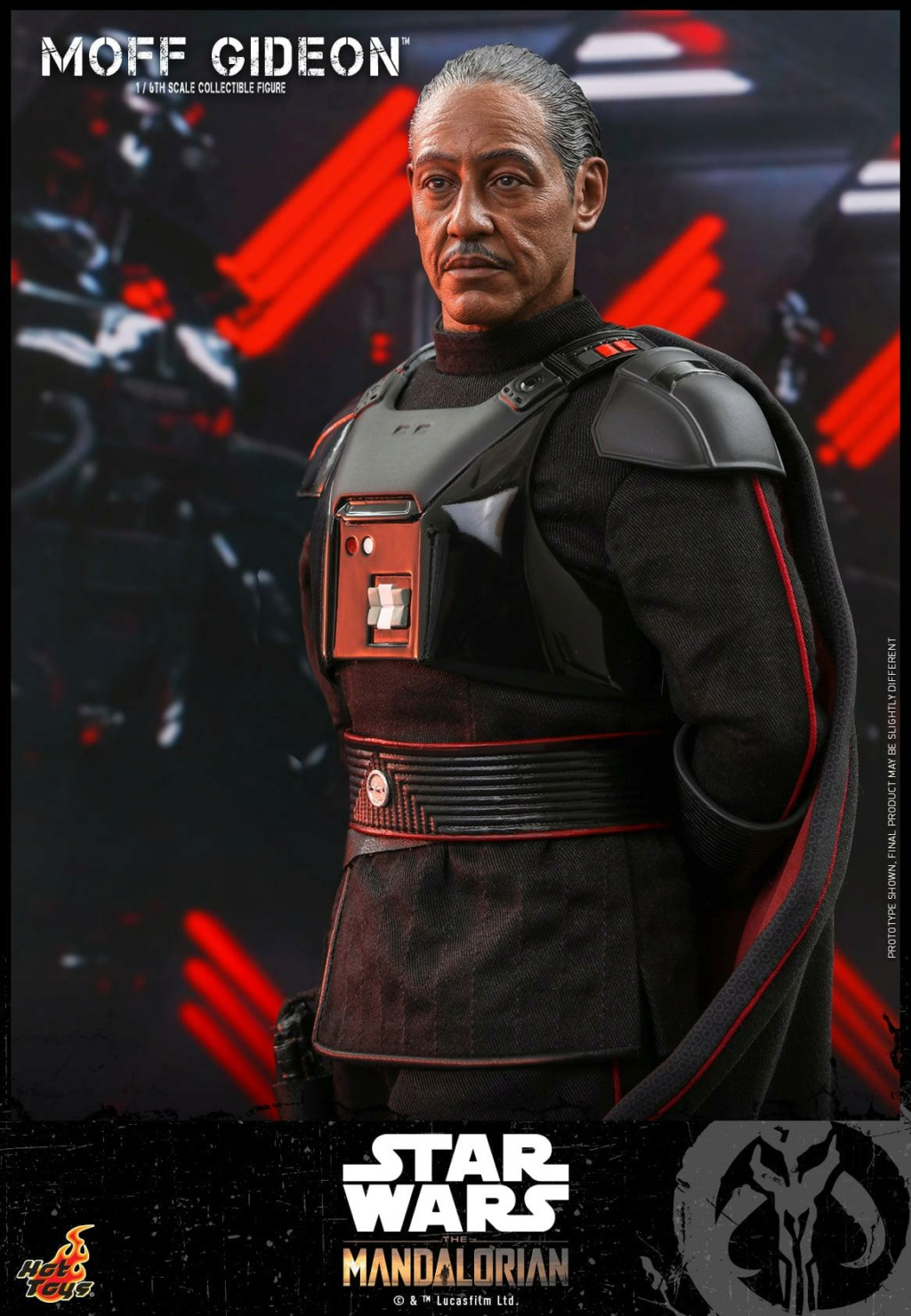 Imperial Moff Gideon - 1/6 Scale Figure - Hot Toys 1031