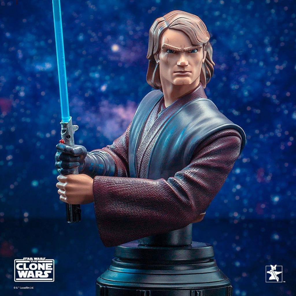 Star Wars: The Clone Wars Anakin Bust - 1:7 - Gentle Giant 1033