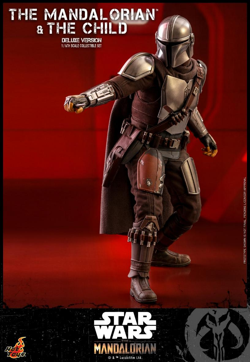 The Mandalorian & The Child Set - 1:6 - Hot Toys Star Wars 1113