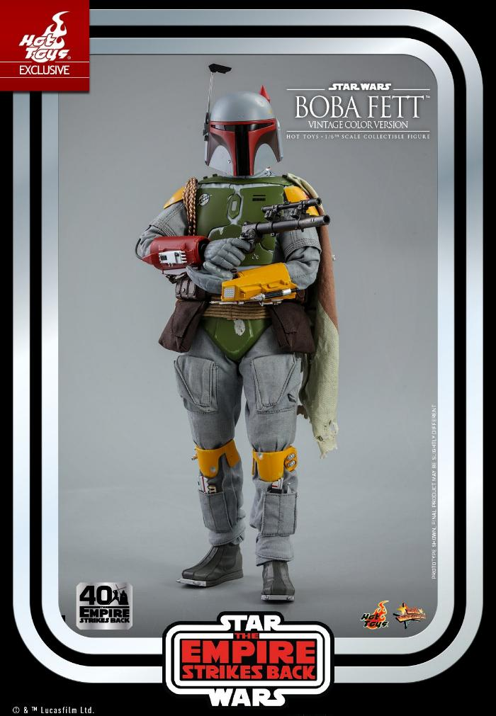 Boba Fett - 1/6th scale (Vintage Color Version) Hot Toys 1116