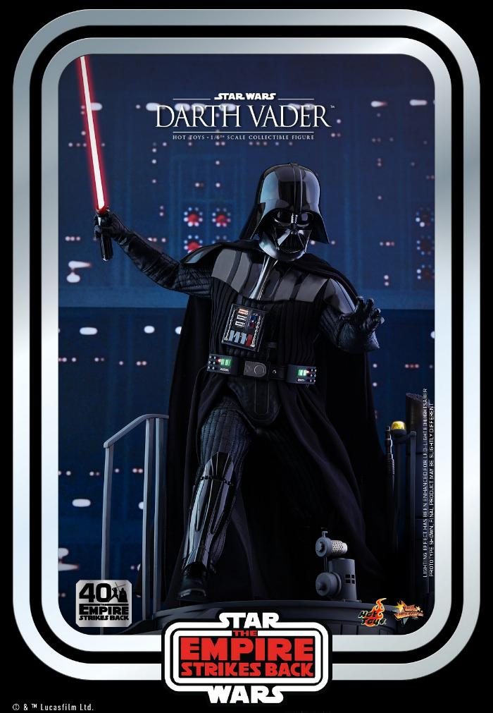 Darth Vader The Empire Strikes Back - 1/6th scale Hot Toys  1118