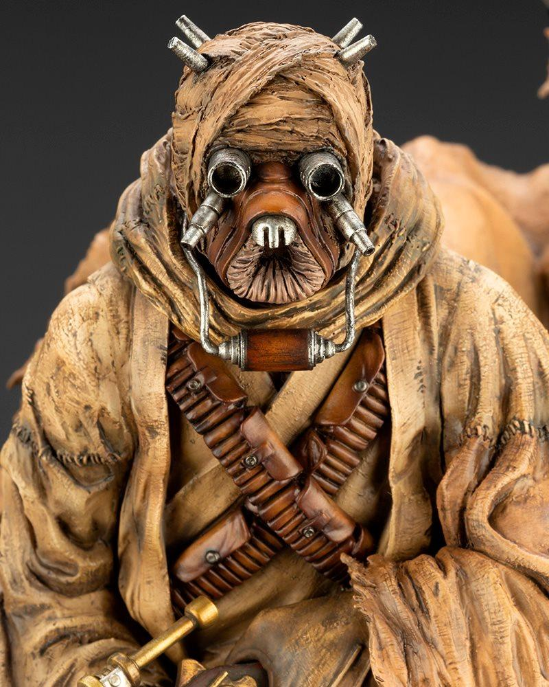 Tusken Raider Barbaric Desert Tribe ARTFX Artist Kotobukiya 1121