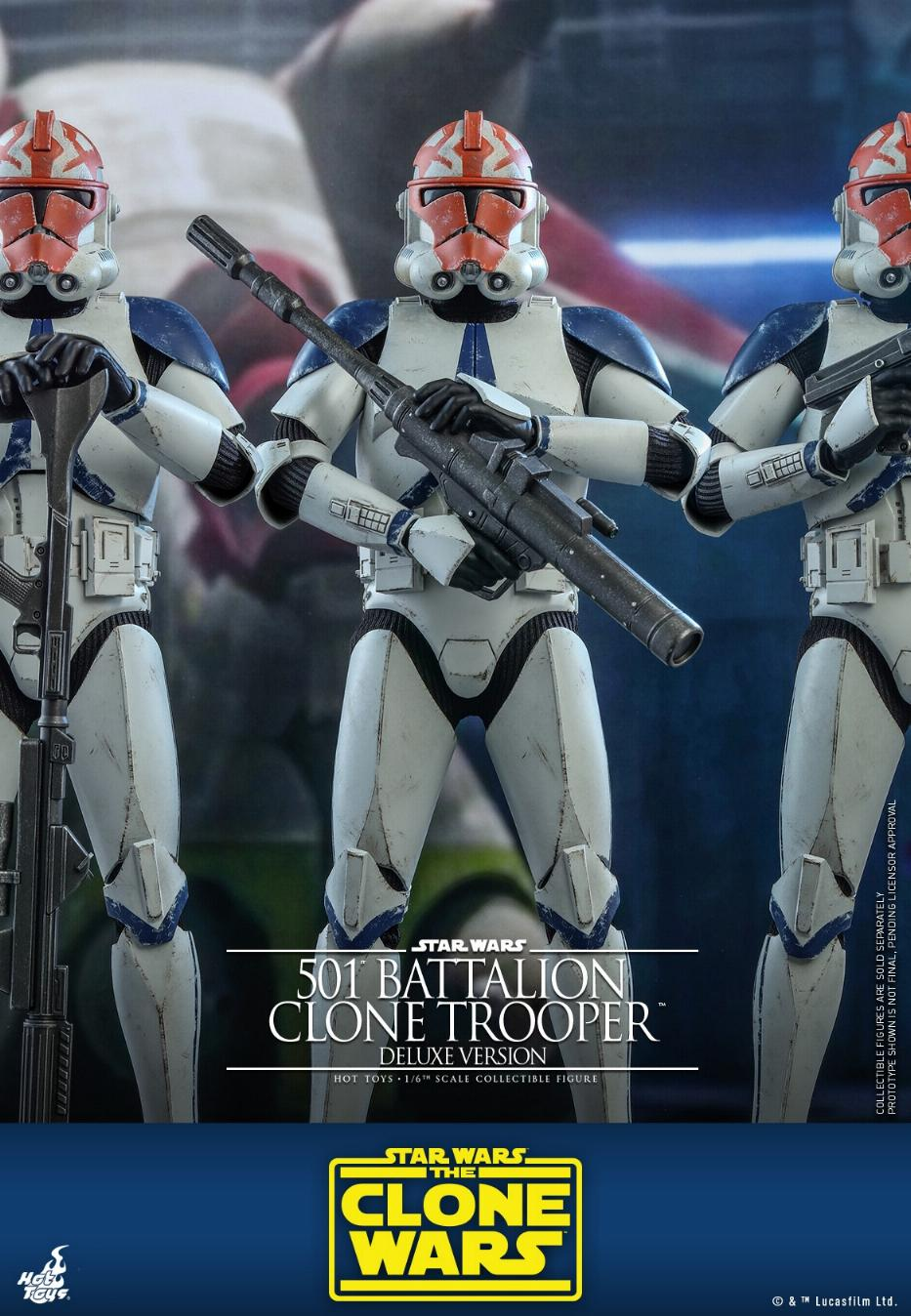 501st Battalion Clone Trooper (Deluxe Version) - Hot Toys  1122