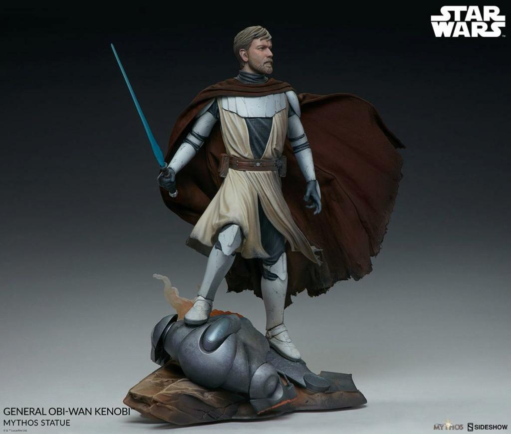 General Obi-Wan Kenobi Mythos Statue - Sideshow 1123