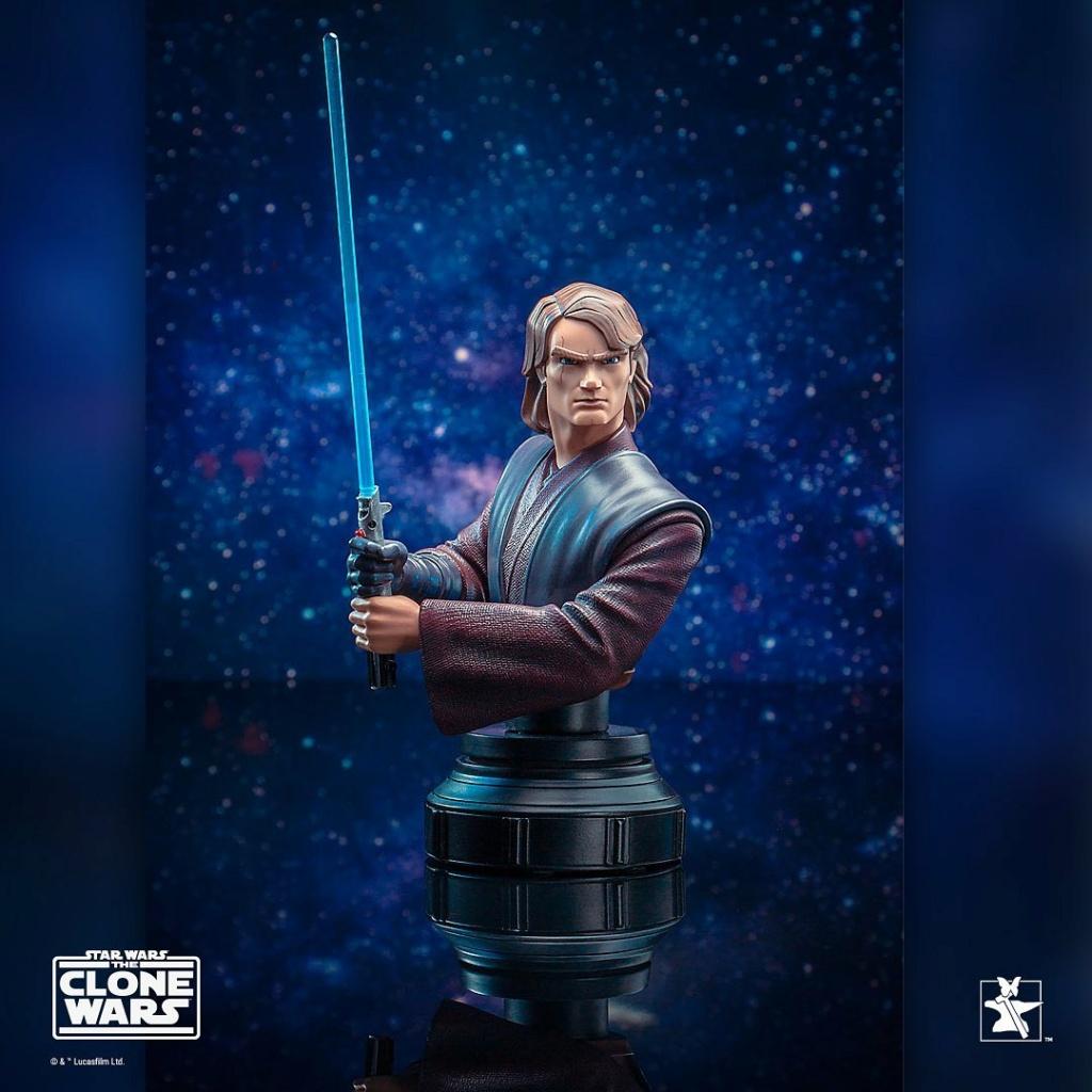 Star Wars: The Clone Wars Anakin Bust - 1:7 - Gentle Giant 1131