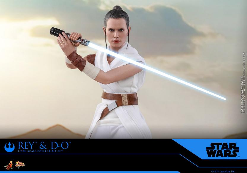 Rey & D-O Collectible Set - The Rise of Skywalker - Hot Toys 1212