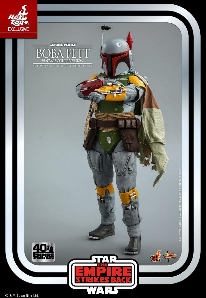 Boba Fett - 1/6th scale (Vintage Color Version) Hot Toys 1216