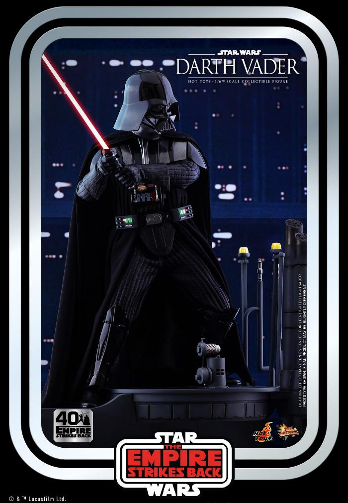 Darth Vader The Empire Strikes Back - 1/6th scale Hot Toys  1218