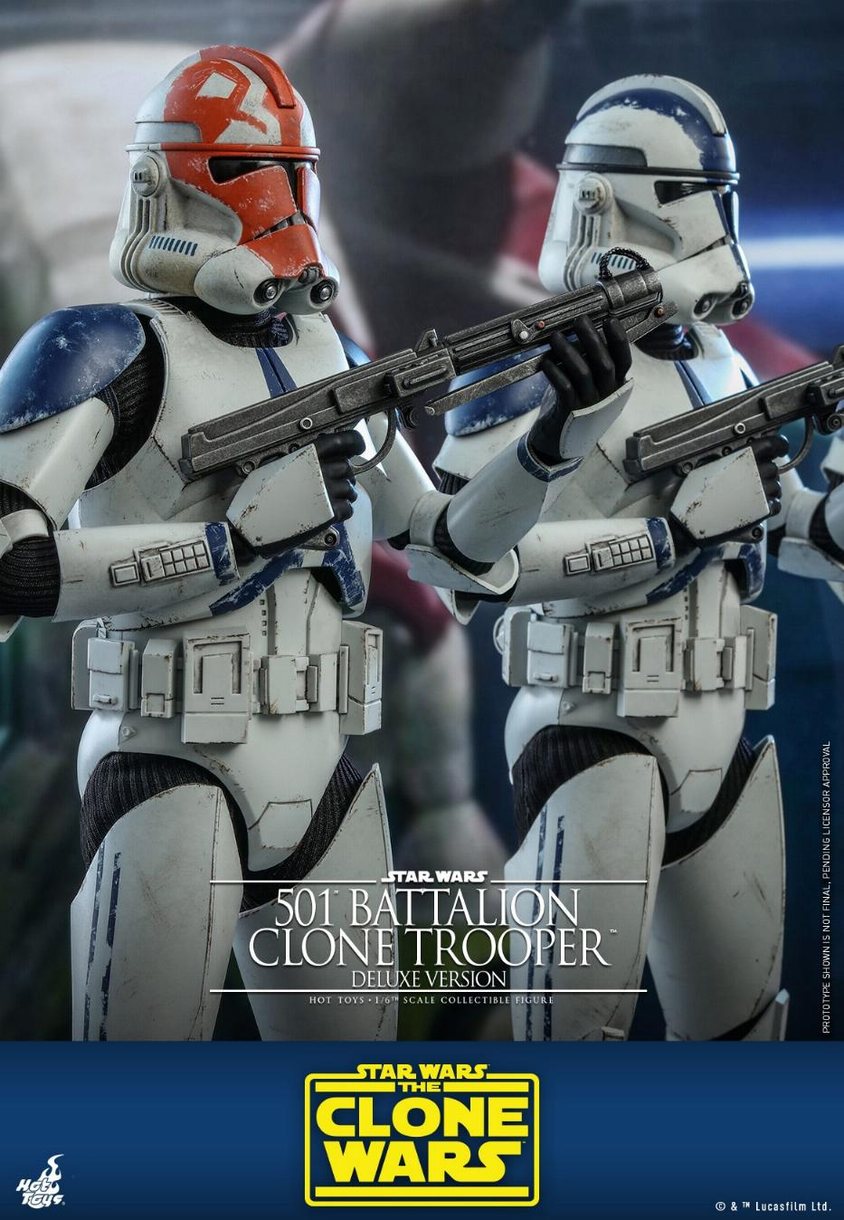501st Battalion Clone Trooper (Deluxe Version) - Hot Toys  1221