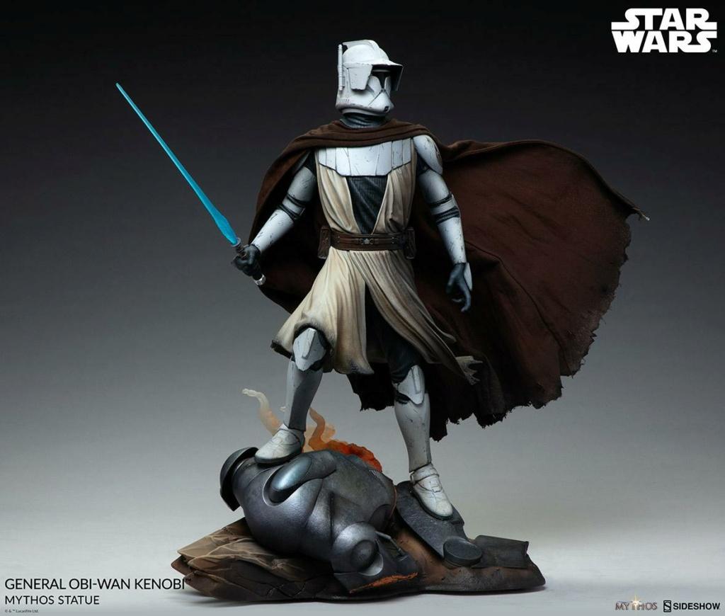 General Obi-Wan Kenobi Mythos Statue - Sideshow 1222