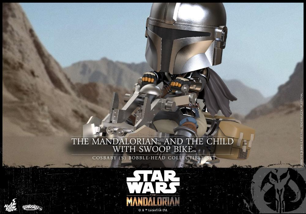 Star Wars The Mandalorian - Cosbaby Bobble-Head - Hot Toys 12246610