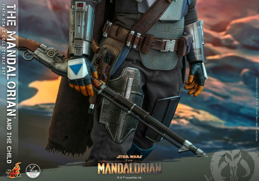 The Mandalorian & The Child Collectible Set - 1/4th Hot Toys 1225