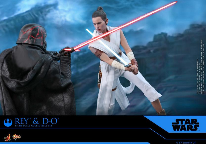 Rey & D-O Collectible Set - The Rise of Skywalker - Hot Toys 1311