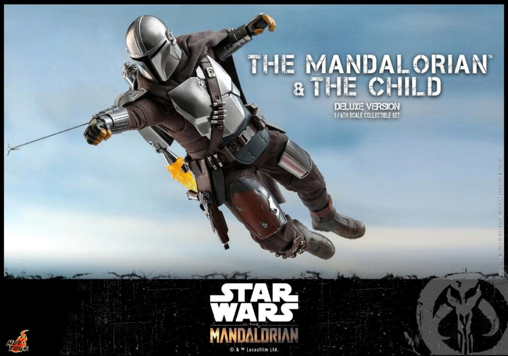 The Mandalorian & The Child Set - 1:6 - Hot Toys Star Wars 1312