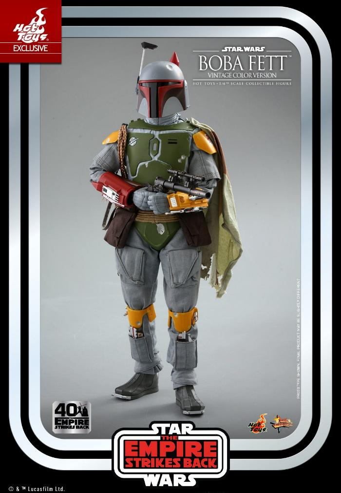 Boba Fett - 1/6th scale (Vintage Color Version) Hot Toys 1315