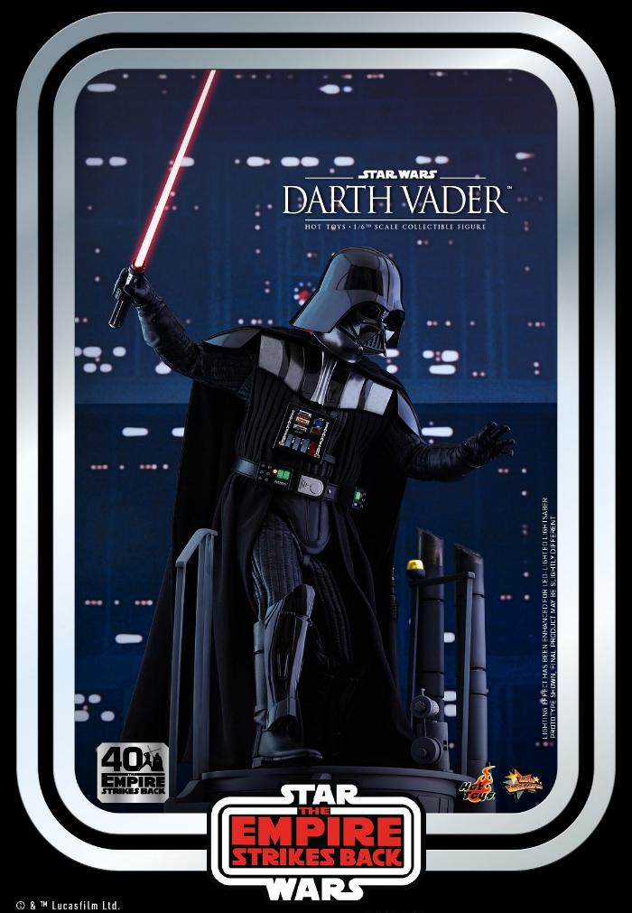 Darth Vader The Empire Strikes Back - 1/6th scale Hot Toys  1317