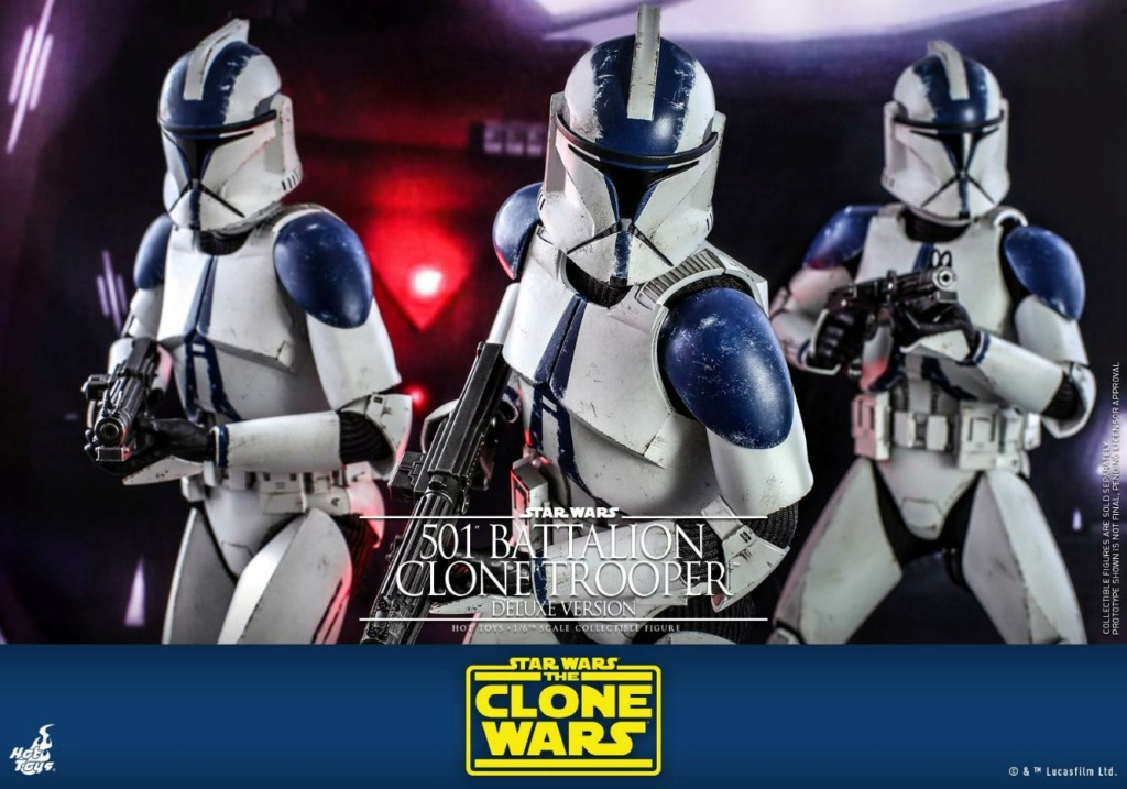 501st Battalion Clone Trooper (Deluxe Version) - Hot Toys  1322