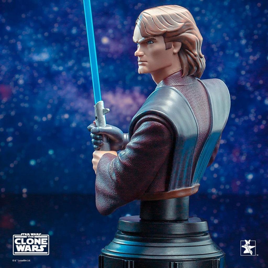 Star Wars: The Clone Wars Anakin Bust - 1:7 - Gentle Giant 1331