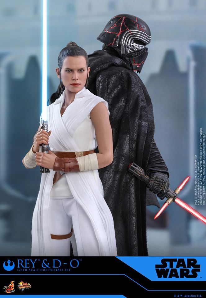 Rey & D-O Collectible Set - The Rise of Skywalker - Hot Toys 1411