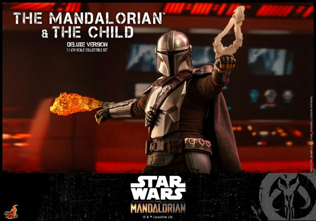 The Mandalorian & The Child Set - 1:6 - Hot Toys Star Wars 1412