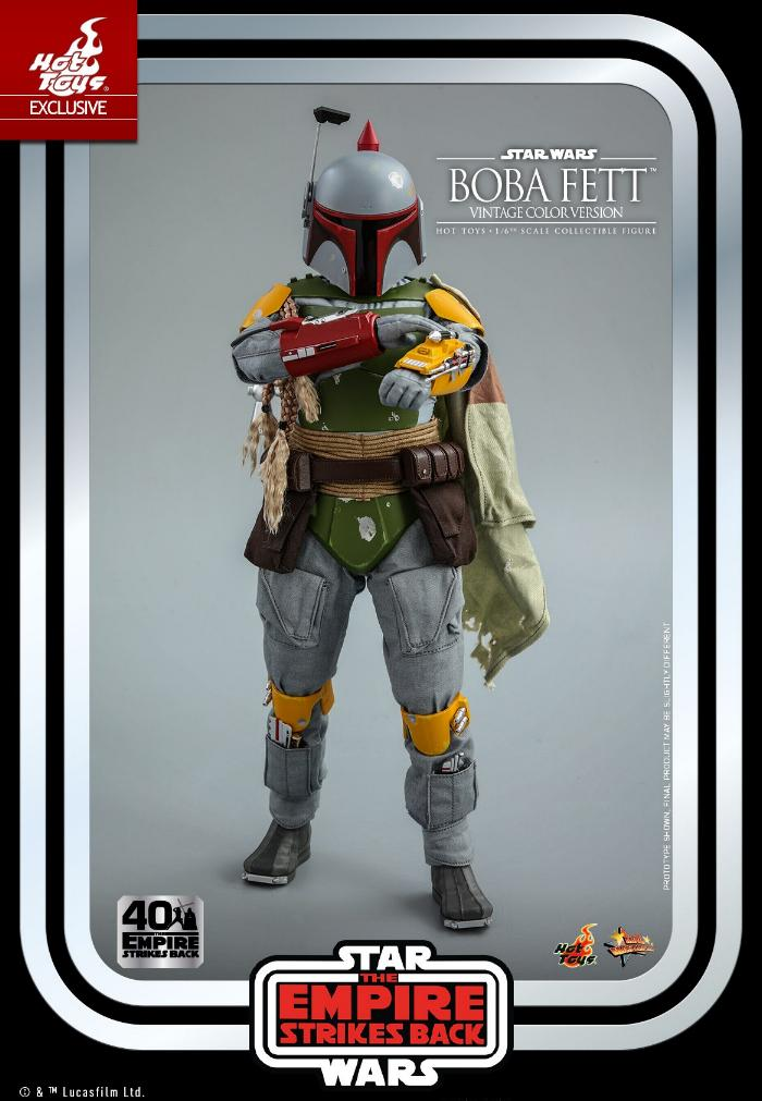 Boba Fett - 1/6th scale (Vintage Color Version) Hot Toys 1415