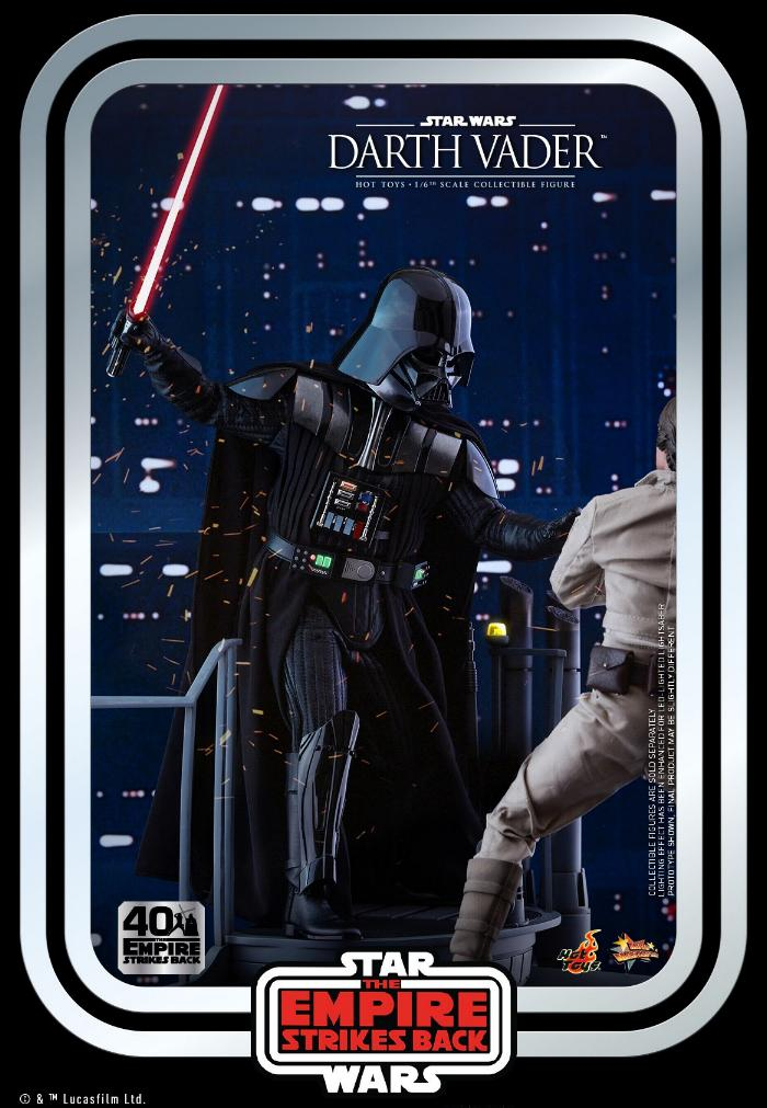 Darth Vader The Empire Strikes Back - 1/6th scale Hot Toys  1417