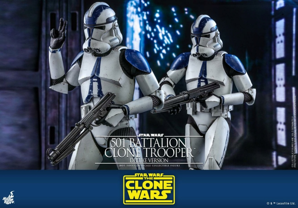 501st Battalion Clone Trooper (Deluxe Version) - Hot Toys  1422