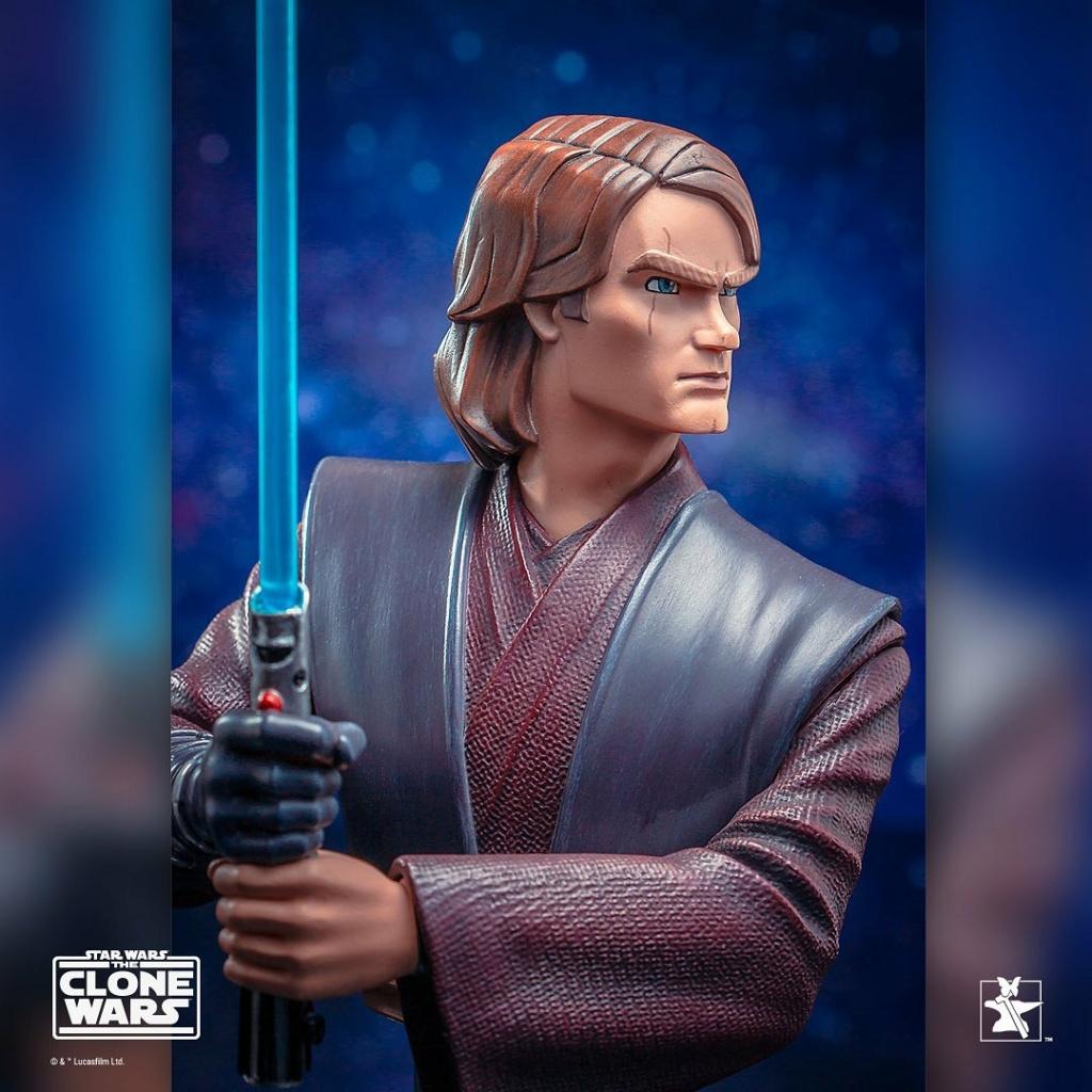Star Wars: The Clone Wars Anakin Bust - 1:7 - Gentle Giant 1429