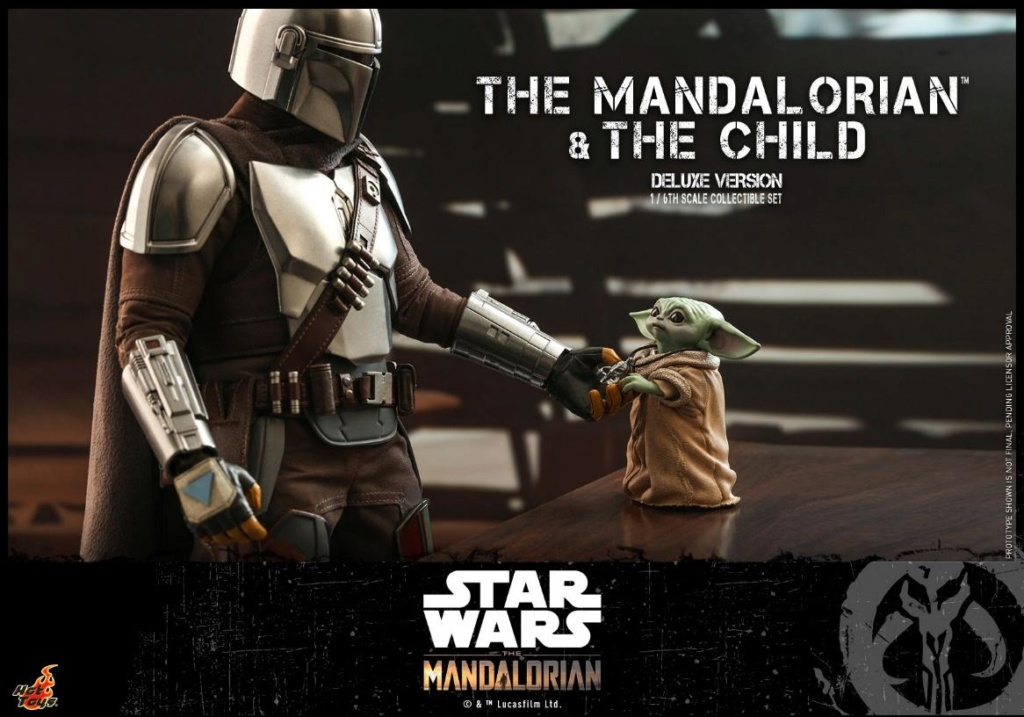 The Mandalorian & The Child Set - 1:6 - Hot Toys Star Wars 1512