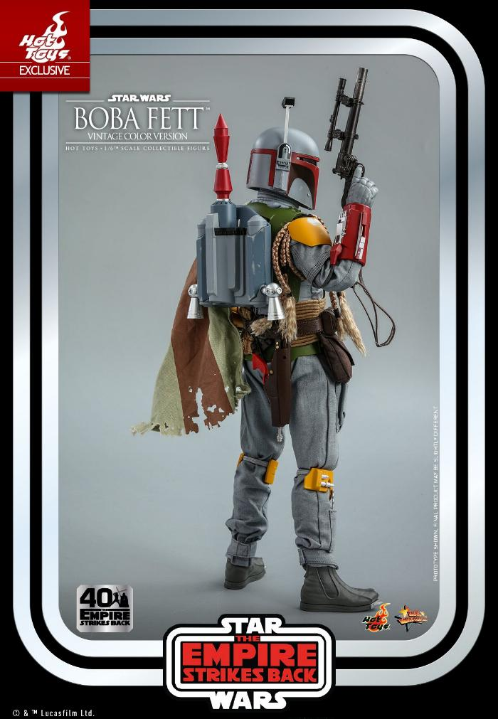Boba Fett - 1/6th scale (Vintage Color Version) Hot Toys 1515