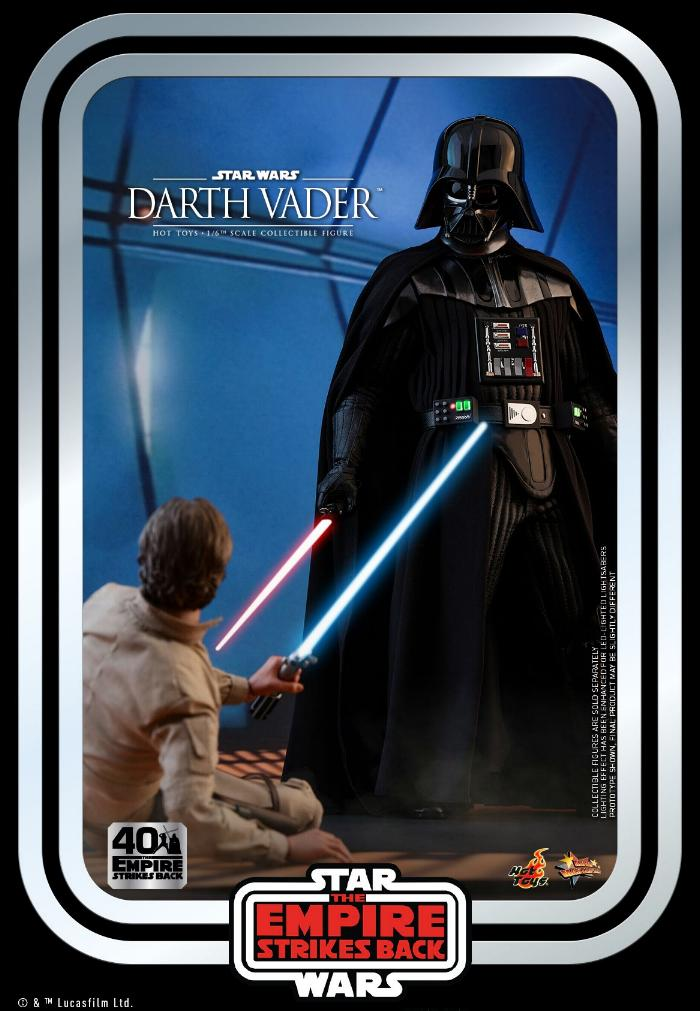 Darth Vader The Empire Strikes Back - 1/6th scale Hot Toys  1517
