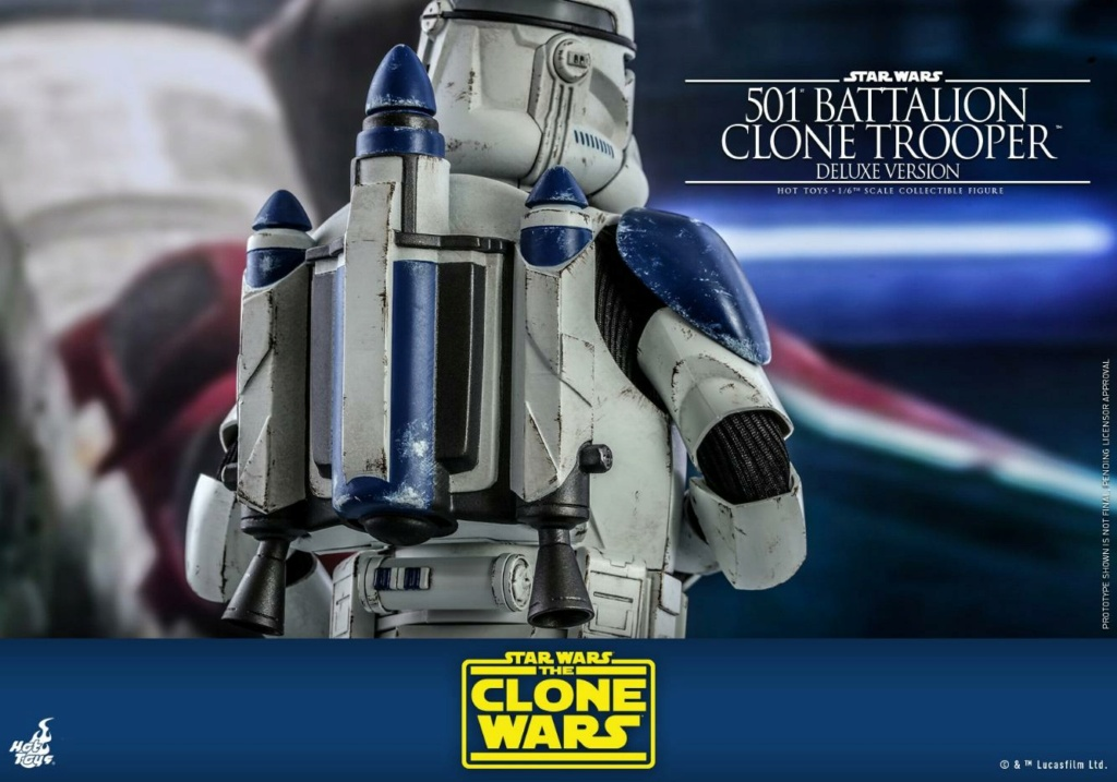 501st Battalion Clone Trooper (Deluxe Version) - Hot Toys  1521