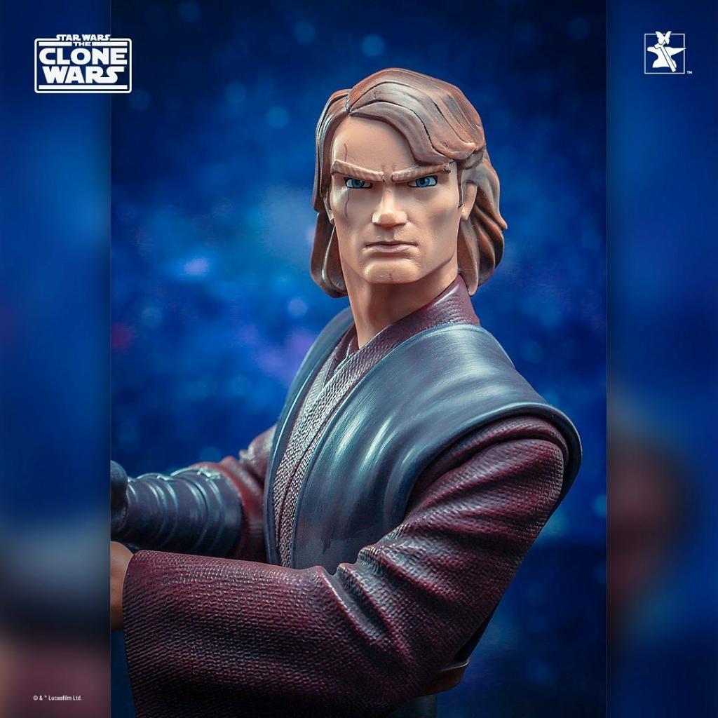 Star Wars: The Clone Wars Anakin Bust - 1:7 - Gentle Giant 1528