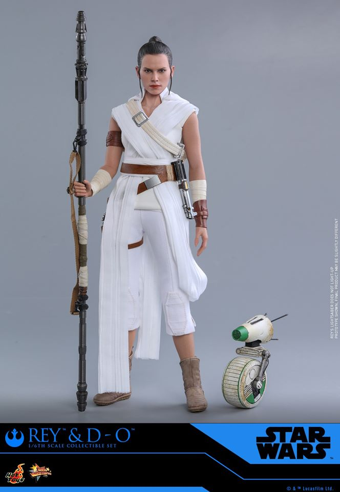 Rey & D-O Collectible Set - The Rise of Skywalker - Hot Toys 1611