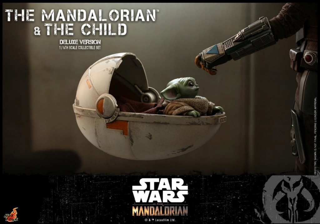 The Mandalorian & The Child Set - 1:6 - Hot Toys Star Wars 1612