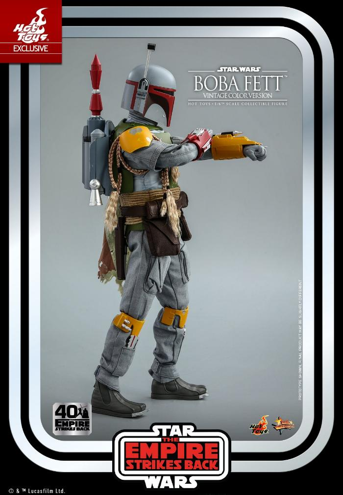 Boba Fett - 1/6th scale (Vintage Color Version) Hot Toys 1614