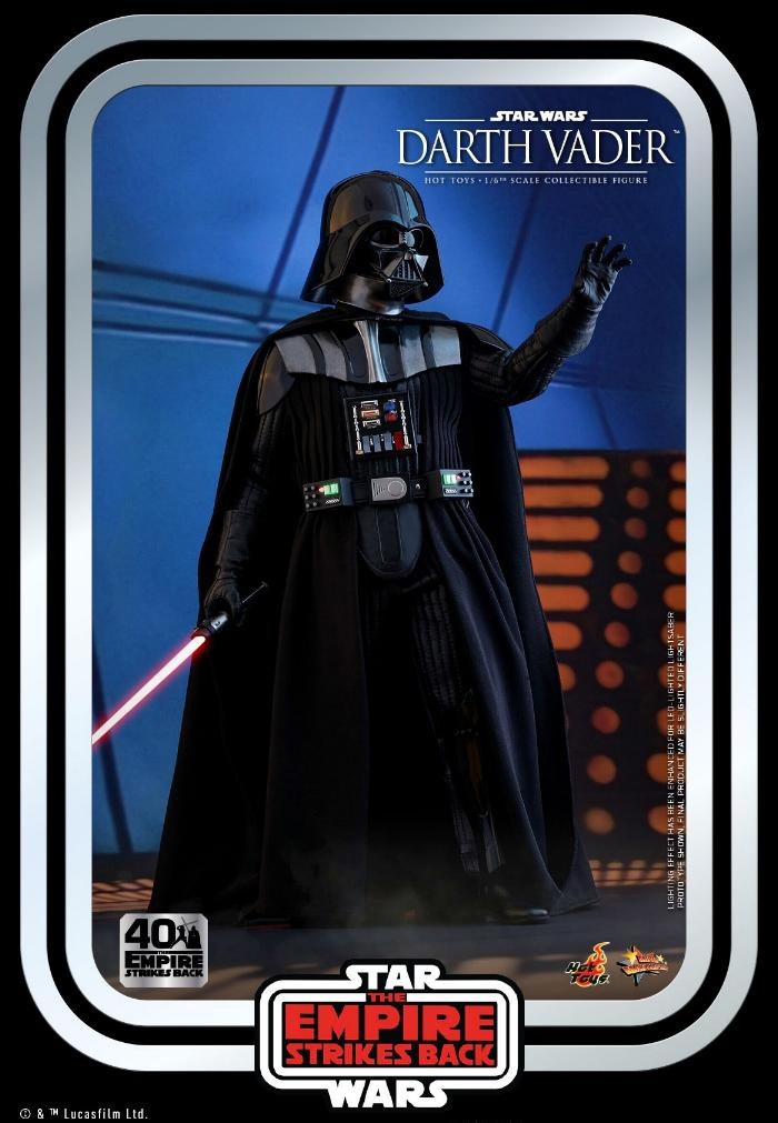 Darth Vader The Empire Strikes Back - 1/6th scale Hot Toys  1615