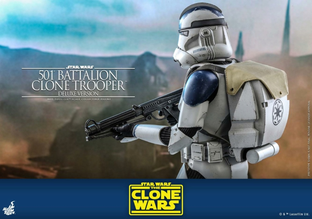 501st Battalion Clone Trooper (Deluxe Version) - Hot Toys  1619
