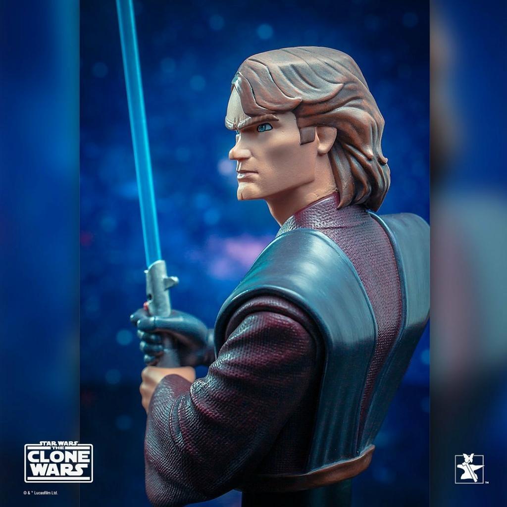 Star Wars: The Clone Wars Anakin Bust - 1:7 - Gentle Giant 1625