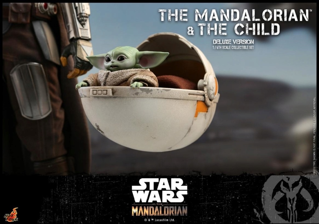 The Mandalorian & The Child Set - 1:6 - Hot Toys Star Wars 1712