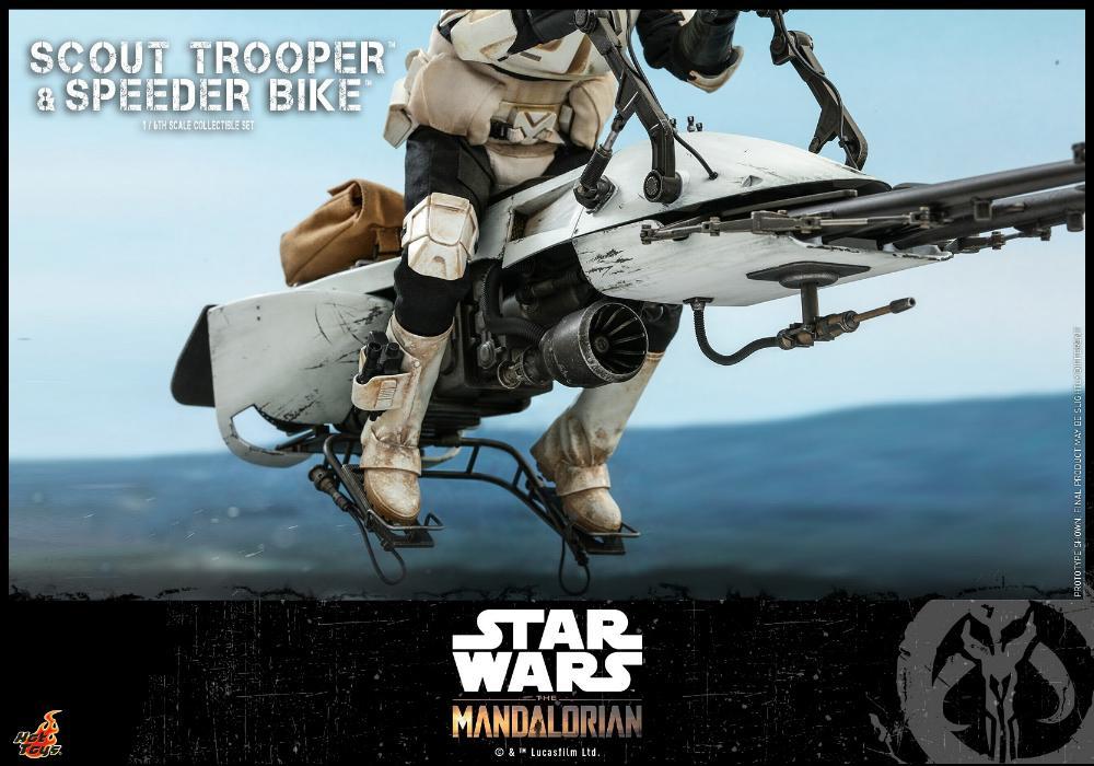 Scout Trooper & Speeder Bike Set 1/6 - Mandalorian - Hot Toy 1713