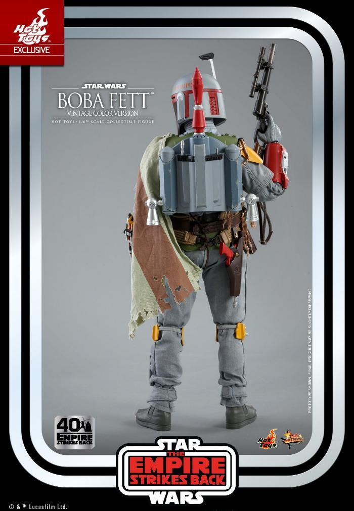 Boba Fett - 1/6th scale (Vintage Color Version) Hot Toys 1714